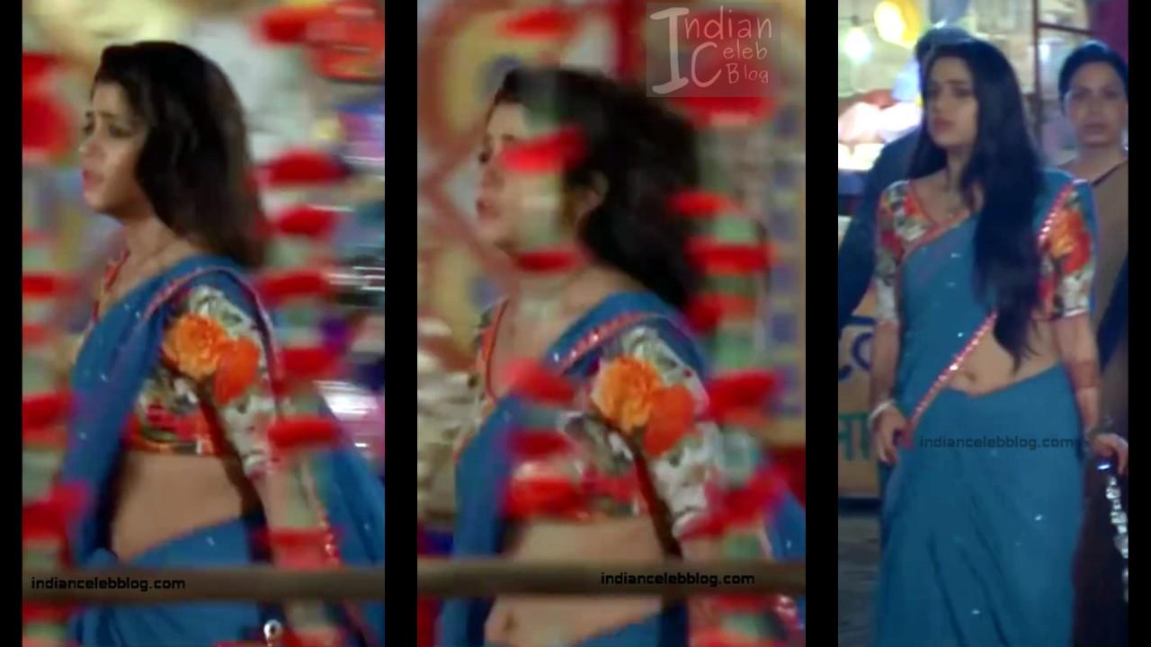 Chandni Bhagwanani_Hindi TV serial Actress_10_Hot sari photo