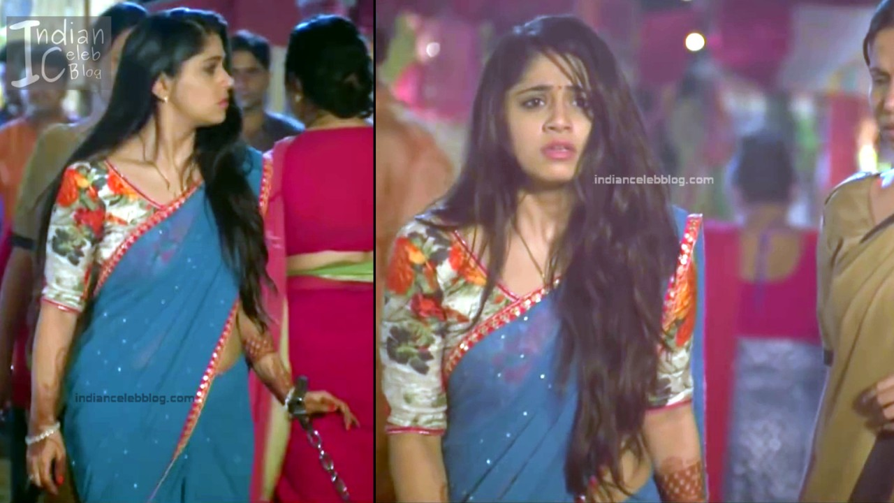 Chandni Bhagwanani_Hindi TV serial Actress_11_Hot sari photo