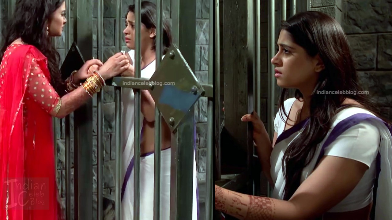 Chandni Bhagwanani_Hindi TV serial Actress_13_Hot sari photo