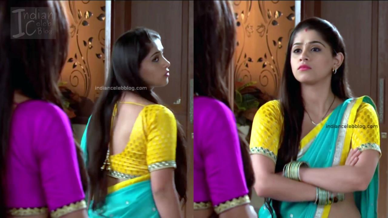 Chandni Bhagwanani_Hindi TV serial Actress_2_Hot sari photo