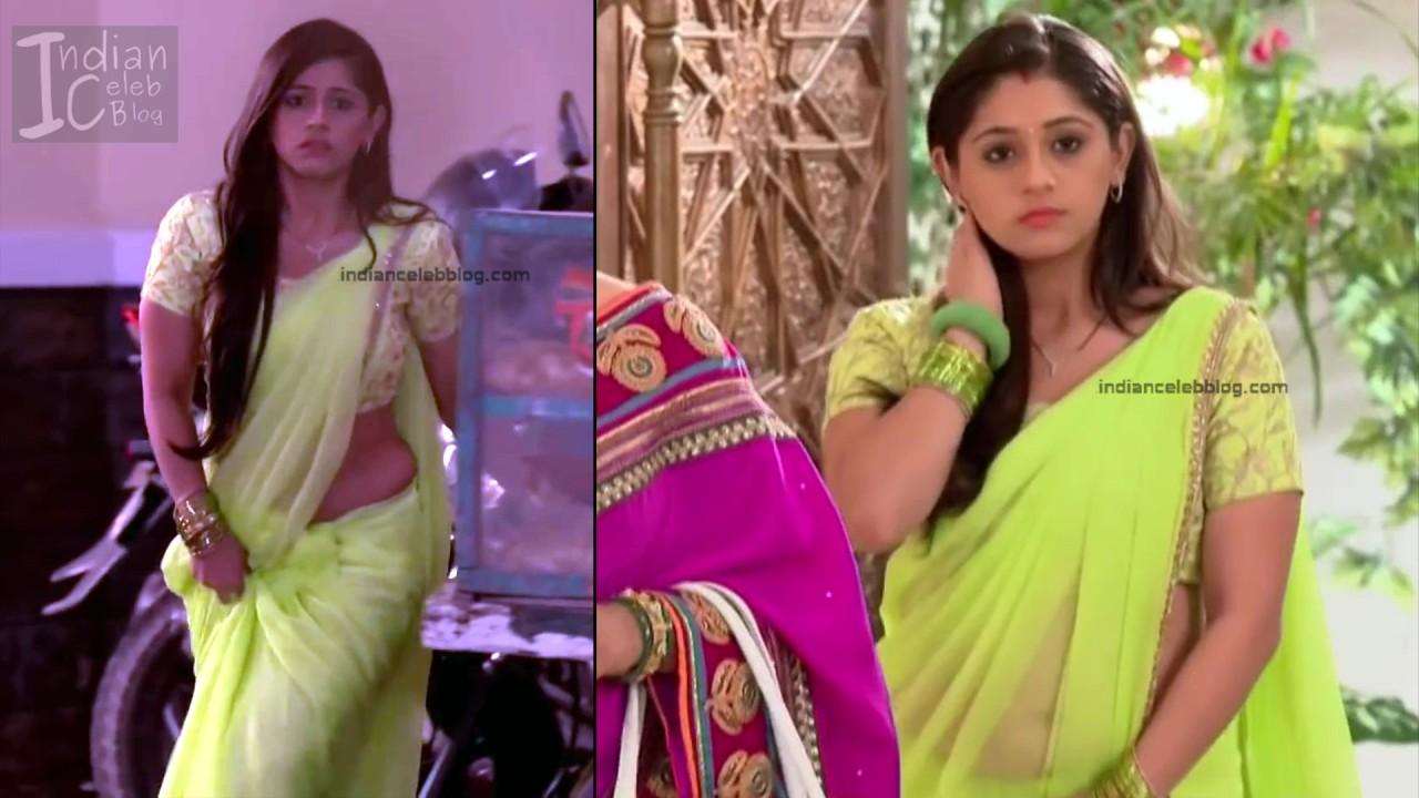 Chandni Bhagwanani_Hindi TV serial Actress_5_Hot sari photo