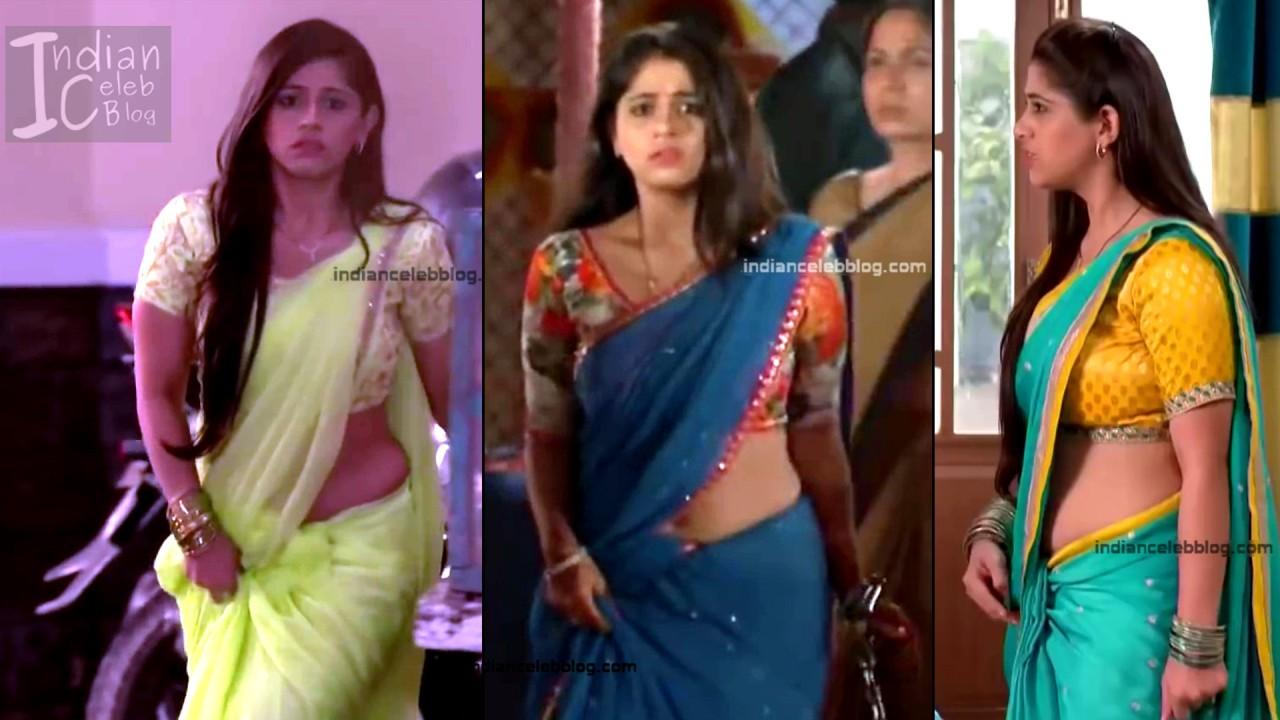Chandni Bhagwanani_Hindi TV serial Actress_6_Hot sari photo