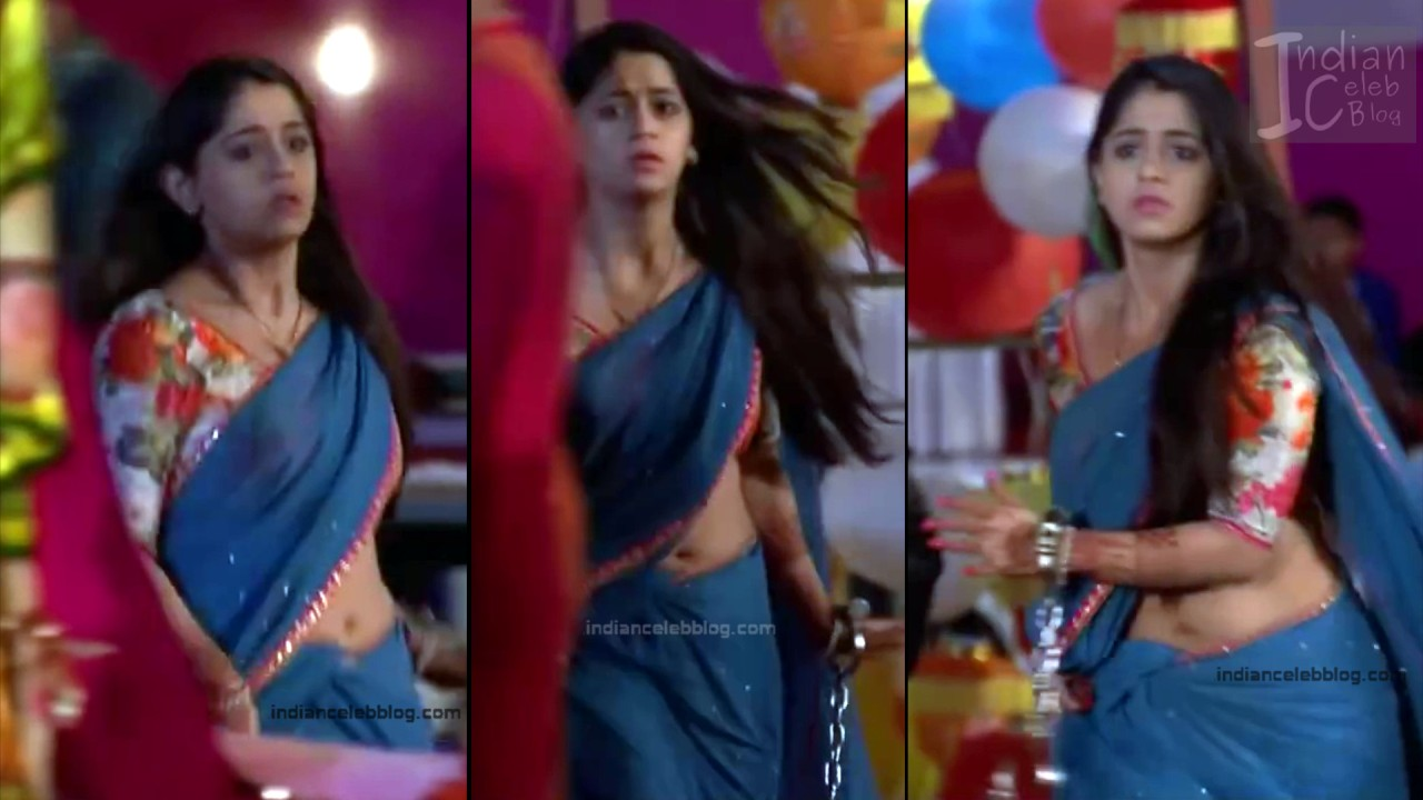 Chandni Bhagwanani_Hindi TV serial Actress_8_Hot sari photo