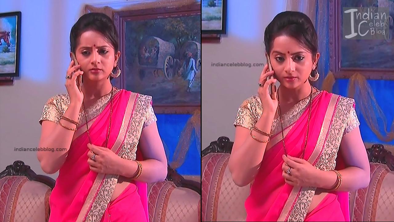 Harshitha_Telugu TV Actress_14_Saree Pics