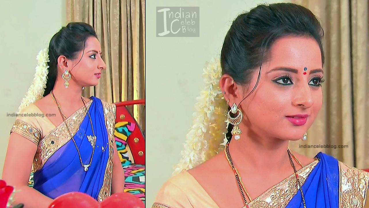 Harshitha_Telugu TV Actress_7_Saree Pics