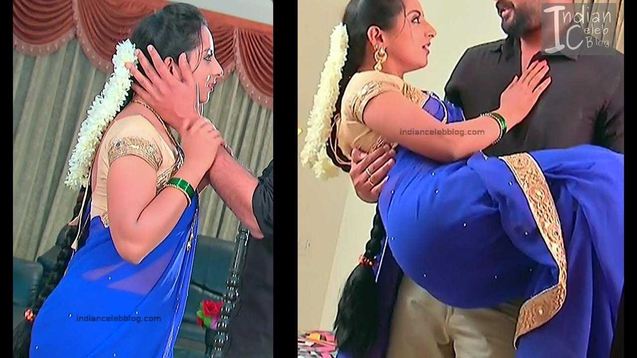 Harshitha_Telugu TV Actress_8_Saree Pics