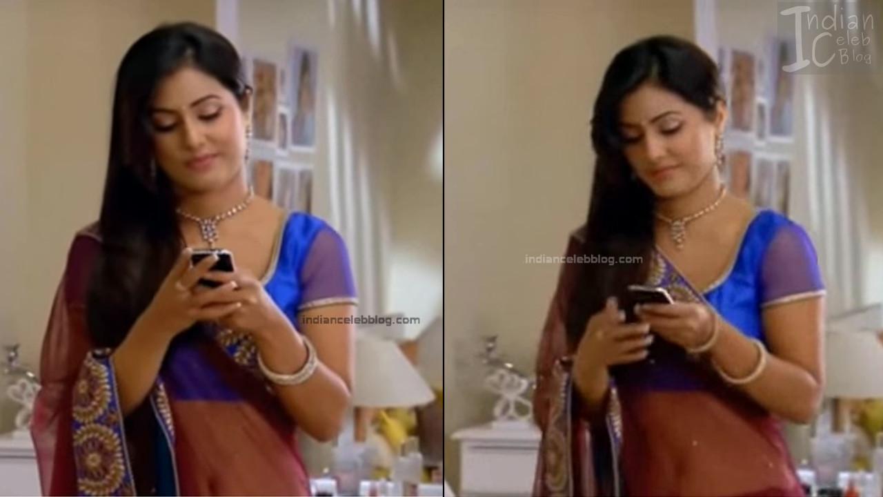 HinaKhan_Hindi TV Actress YRKKH S1_9_Hot Saree navel pics