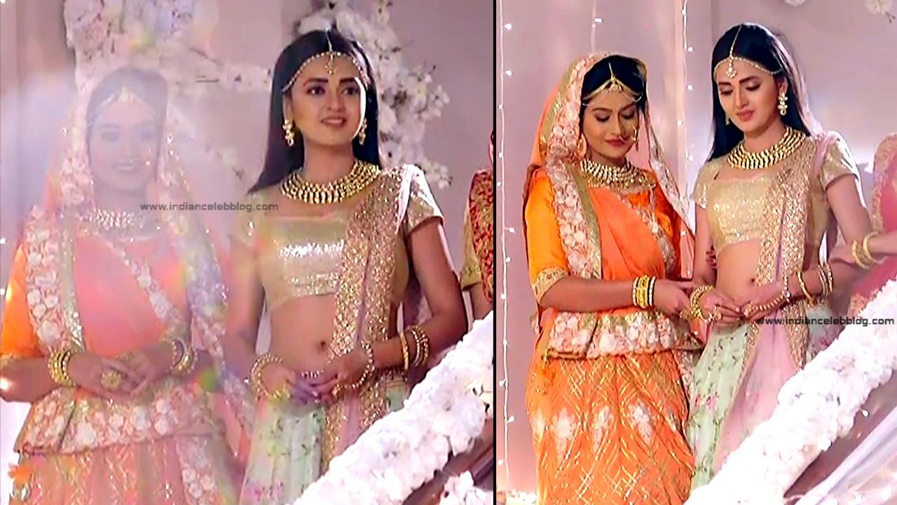 Tejaswo Prakash Wayangakar_Hindi TV Actress_01_Hot Lehenga choli Caps
