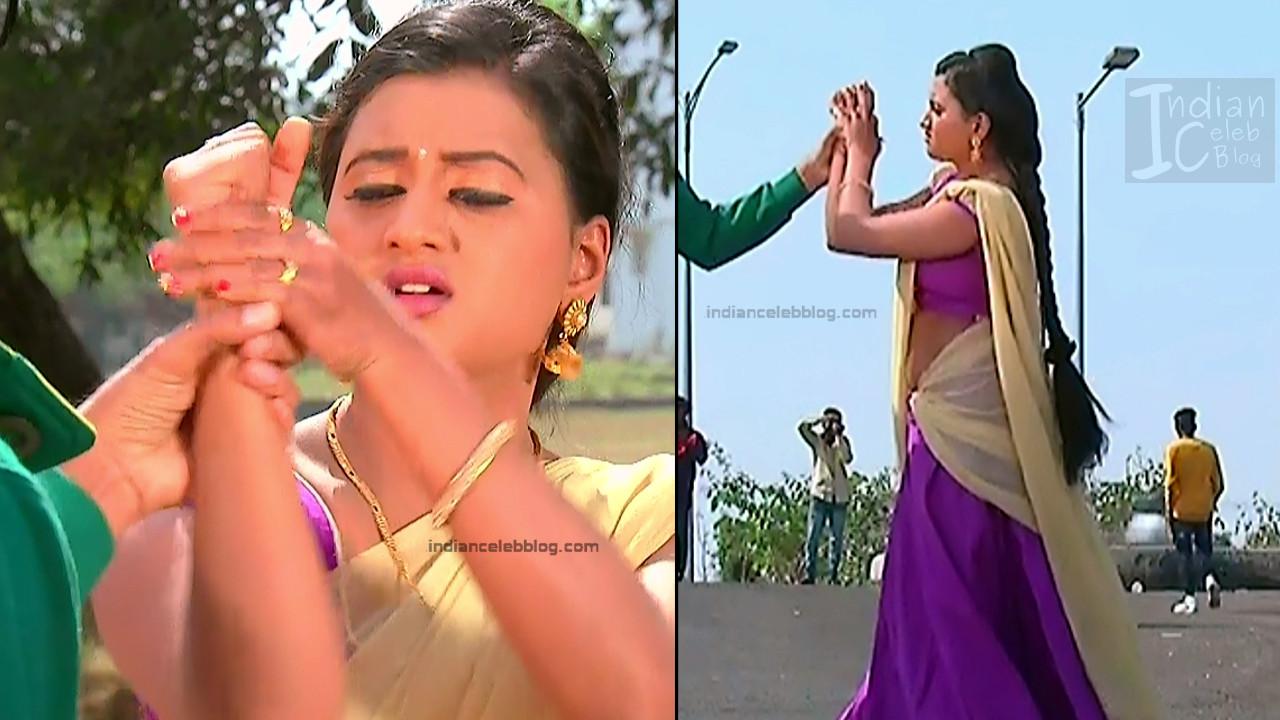 Telugu TV Actress_15_Hot Saree Pic