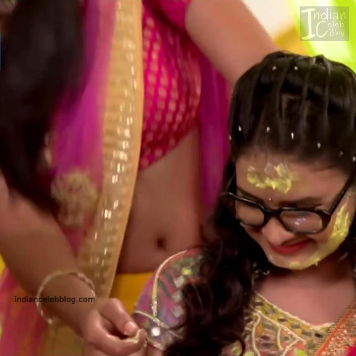 Aalika Sheikh_Hindi TV Actress TumhiHBST S1_18_Hot Sari Pics
