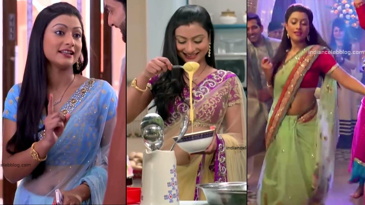 Aalika Sheikh_Hindi TV Actress TumhiHBST S1_1_Hot Sari Pics