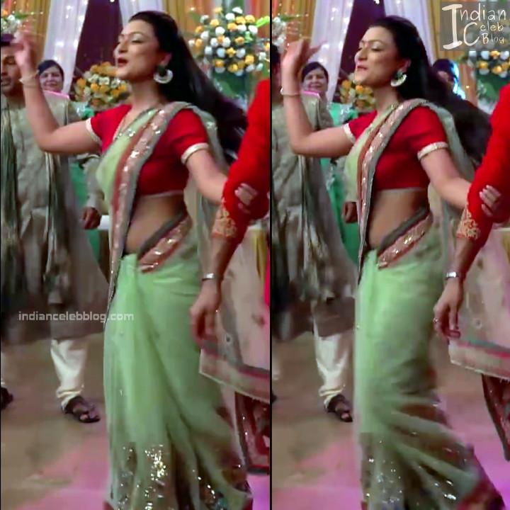 Aalika Sheikh_Hindi TV Actress TumhiHBST S1_21_Hot Sari Pics