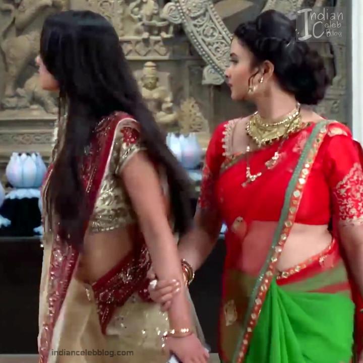 Aalika Sheikh_Hindi TV Actress TumhiHBST S1_25_Hot Sari Pics