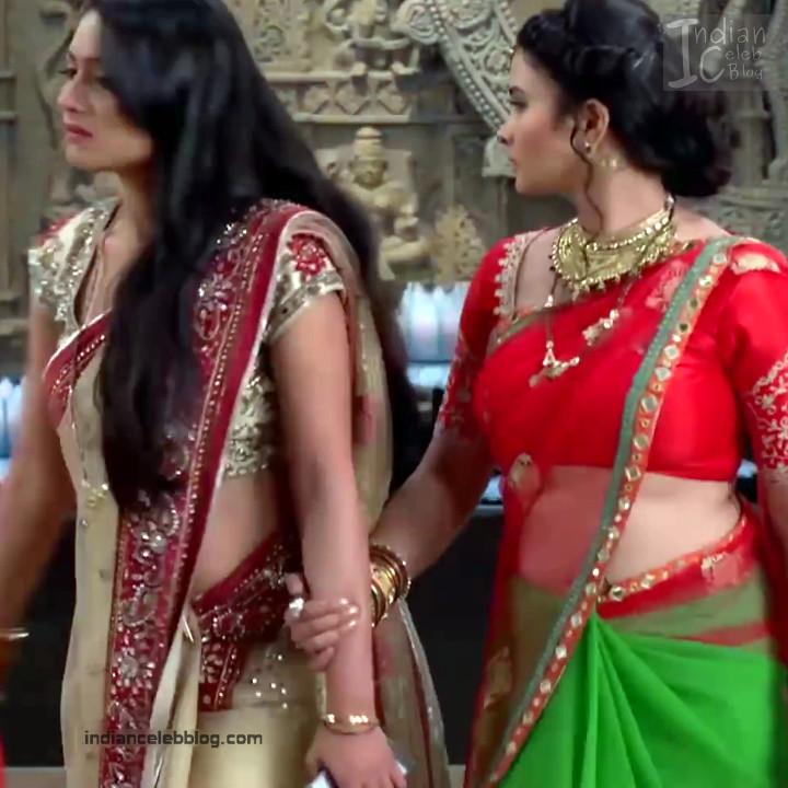 Aalika Sheikh_Hindi TV Actress TumhiHBST S1_26_Hot Sari Pics