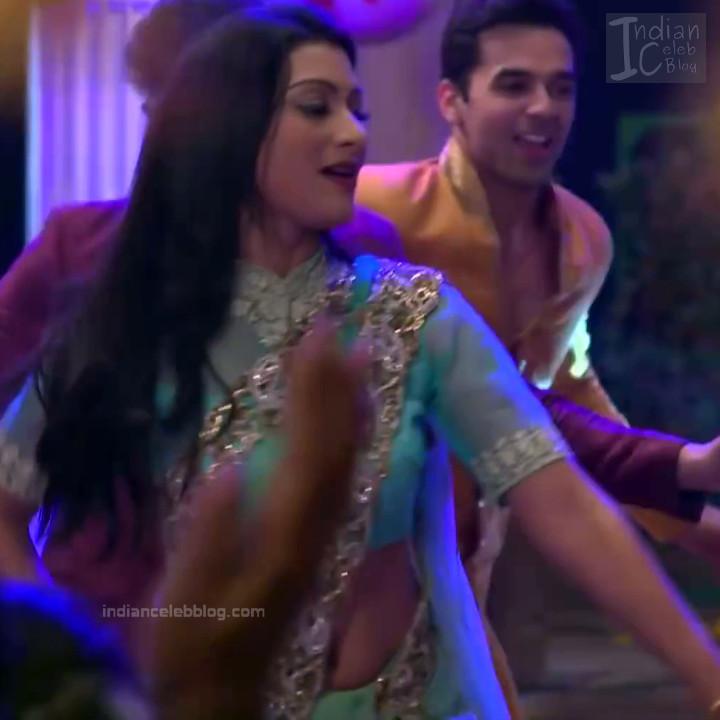 Aalika Sheikh_Hindi TV Actress TumhiHBST S1_2_Hot Sari Pics