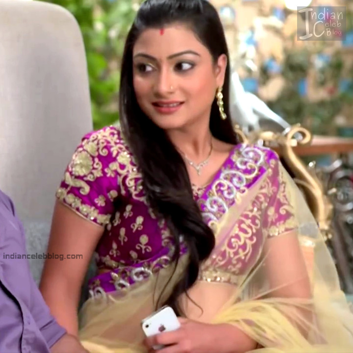 Aalika Sheikh_Hindi TV Actress TumhiHBST S1_4_Hot Sari Pics