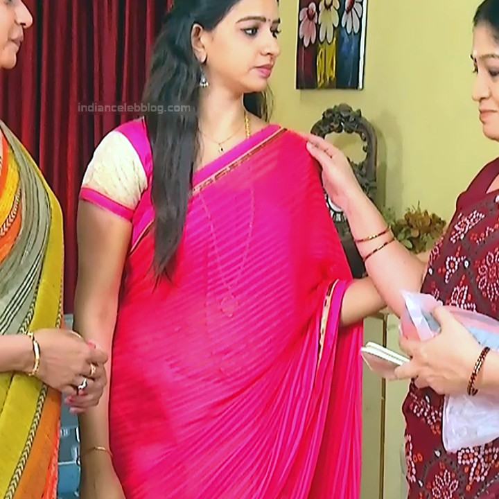Divya_Tamil TV Actress SMG-S2_13_Saree photo
