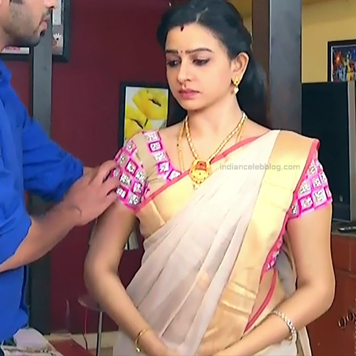 Divya_Tamil TV Actress SMG-S2_4_Saree photo