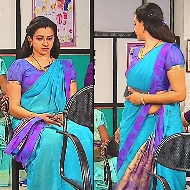 Divya_Tamil TV Actress SMG-S2_8_Saree photo