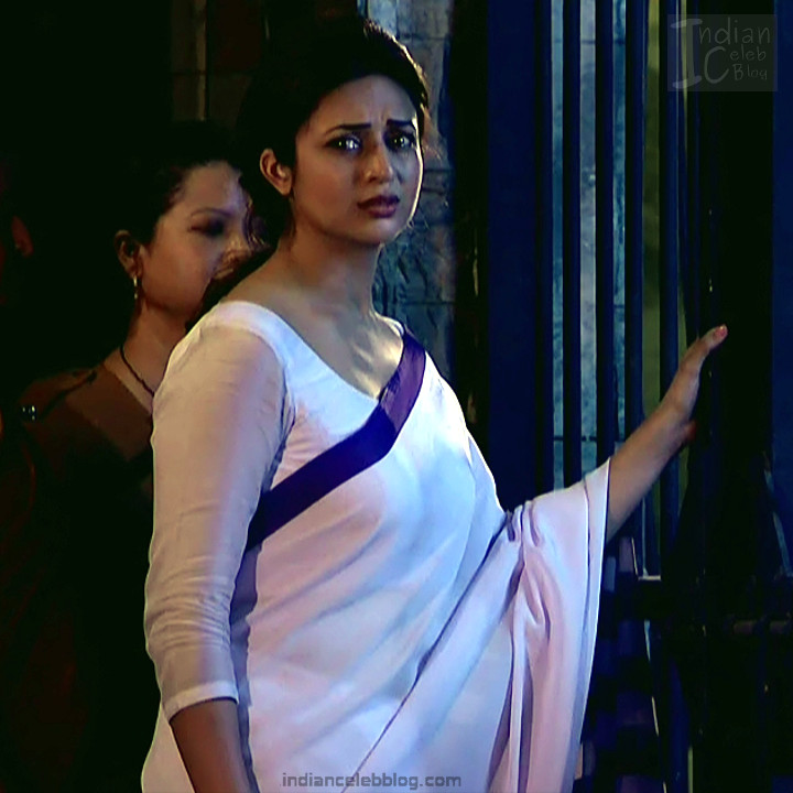 Divyanka Tripathi_Hindi TV Actress YehHM S2_3_Sari Photos