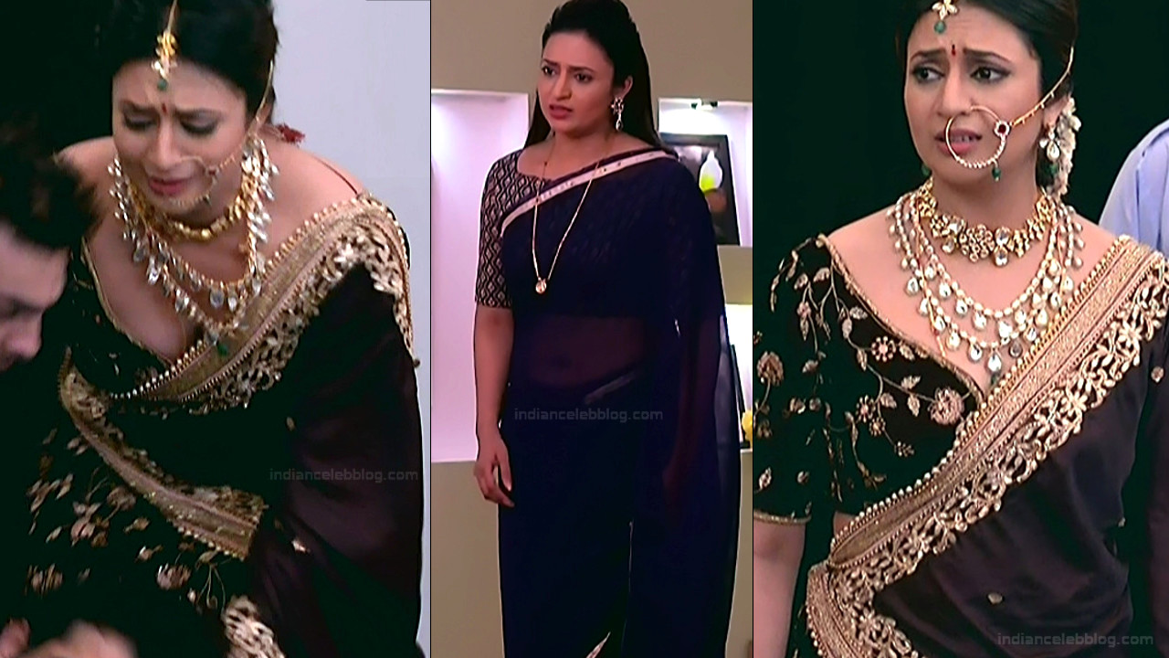 Divyanka Tripathi_Hindi TV Actress YehHM S2_8_Sari Photos