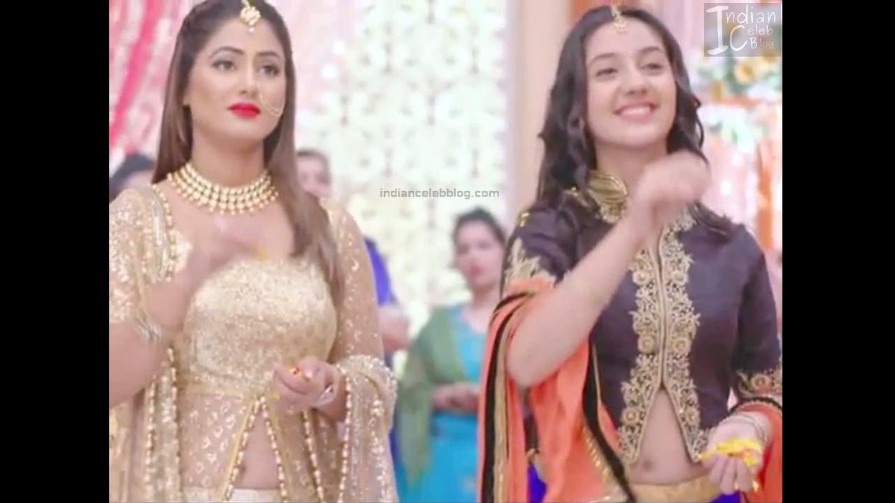 Hina Khan_Hindi TV Actress_19_Hot Sari photos
