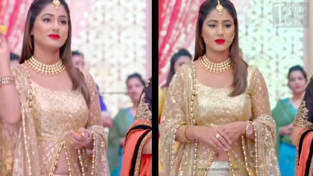Hina Khan_Hindi TV Actress_20_Hot Sari photos