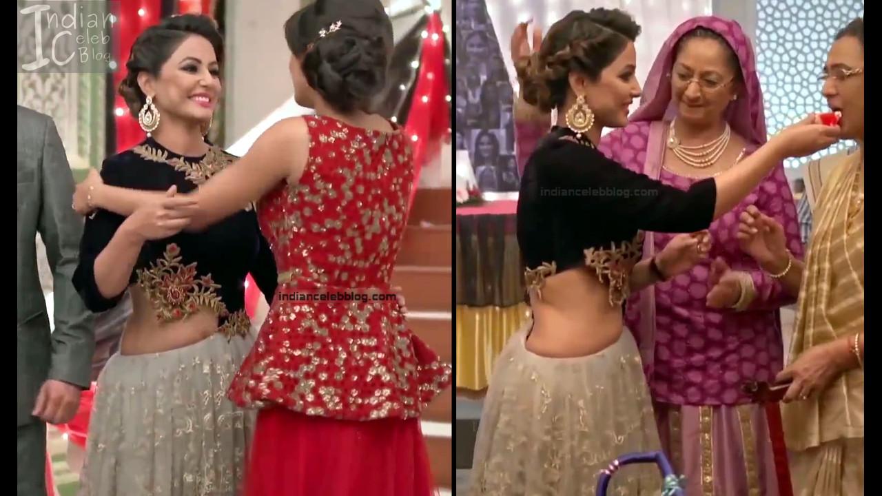 Hina Khan_Hindi TV Actress_4_Hot Sari photos