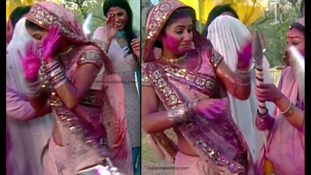 Hina Khan_Hindi TV Actress_9_Hot Sari photos