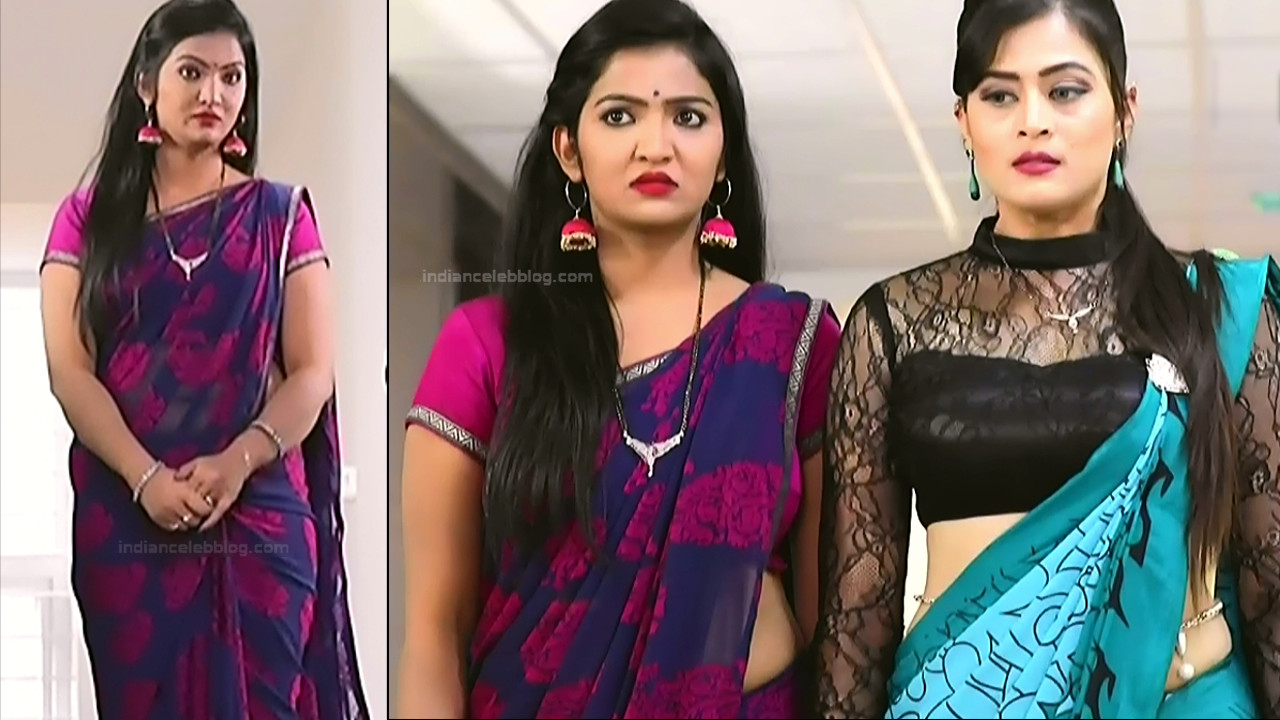 Kannada TV Actress Gallery 2_4_Hot saree pics