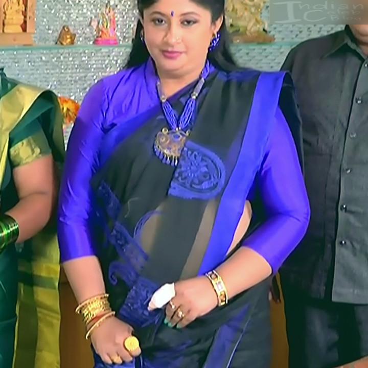 Kannada TV Actress_Comp 1 Mature_17_Hot Saree photos