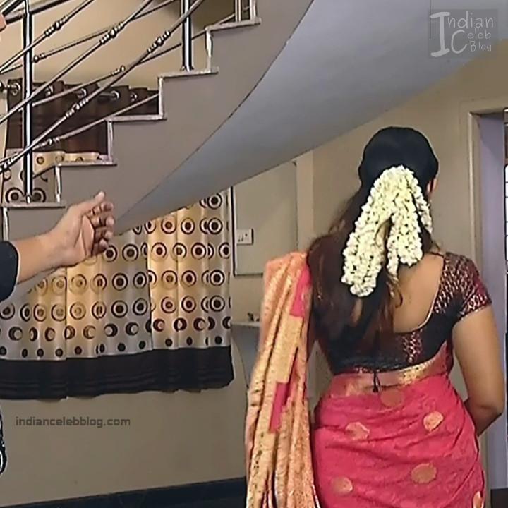 Kavya Shastry Tamil TV Serial Caps In Sari