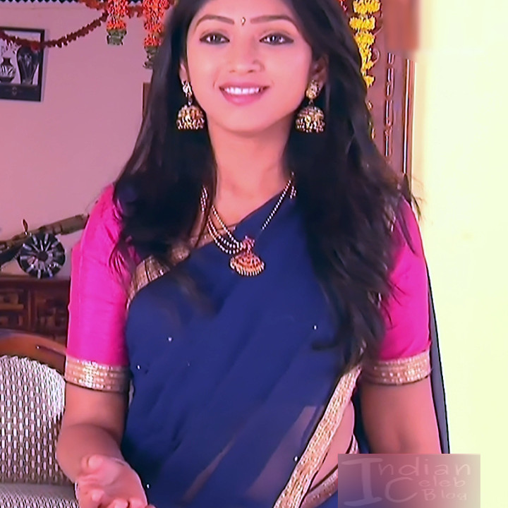 Mythili Telugu TV Actress Sundarakanda S1_2 Hot Saree Pics
