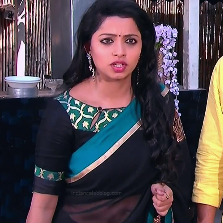 Navya Swamy_Telugu TV Actress Compilation S1_18_Hot Saree photos