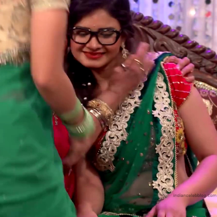 Neha Dangal_Hindi TV Actress TumhiHBST-S1_3_Hot Saree pics
