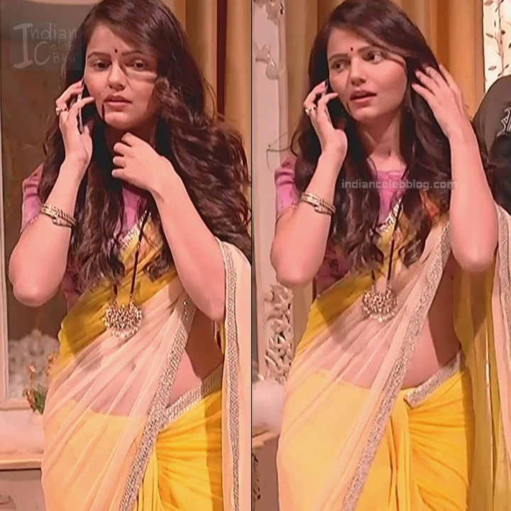 Rubina Dilaik_Hindi TV ShaktiA-S4_18_Hot Sari image