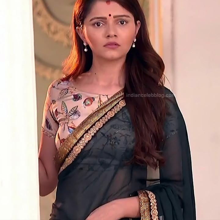 Rubina Dilaik_Hindi TV ShaktiA-S4_3_Hot Sari image