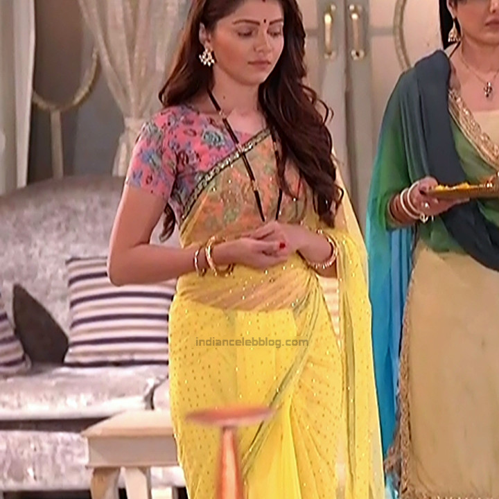 Rubina Dilaik_Hindi TV ShaktiA-S4_4_Hot Sari image