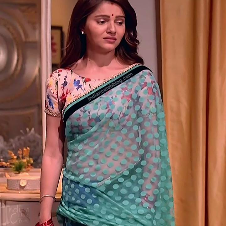 Rubina Dilaik_Hindi TV ShaktiA-S4_6_Hot Sari image