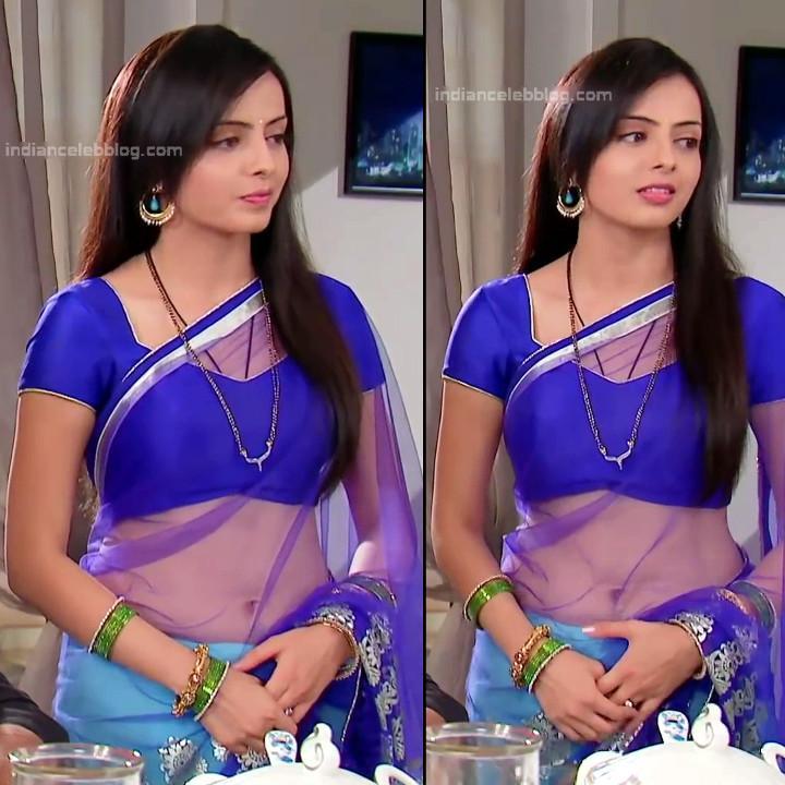 Shrenu Parikh_Hindi TV Actress - Hot Saree Pics S1_2