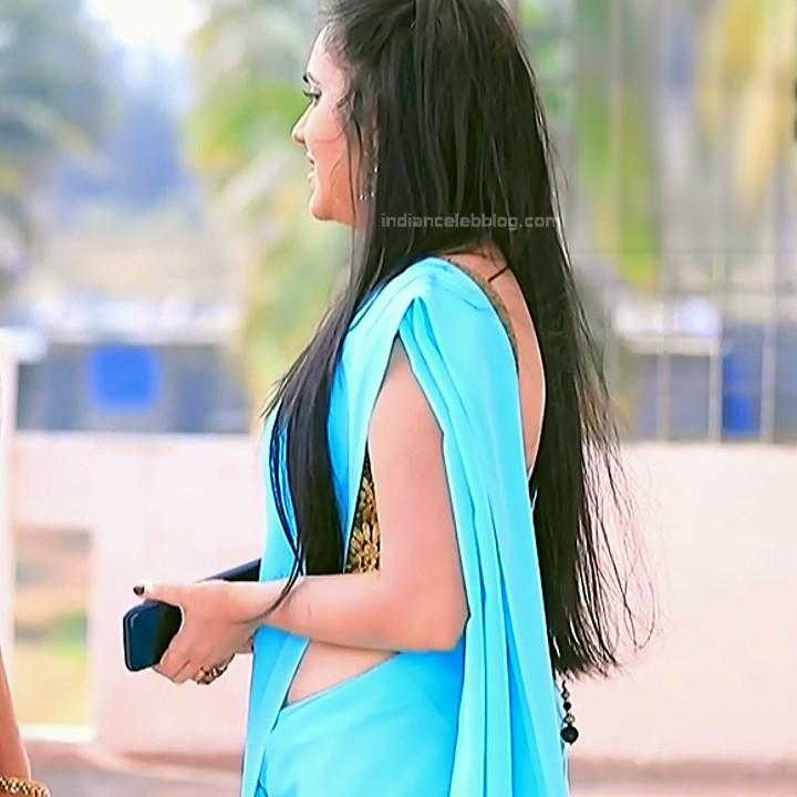 Sindhu Kalyan_Kannada TV Actress PuttaGM-S1_2_Hot Saree pics