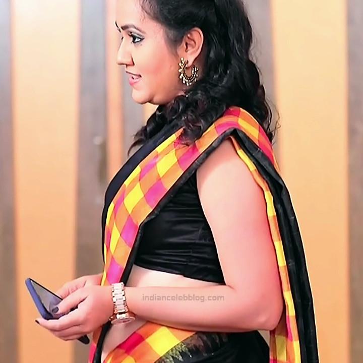 Sindhu Kalyan_Kannada TV Actress PuttaGM-S1_4_Hot Saree pics