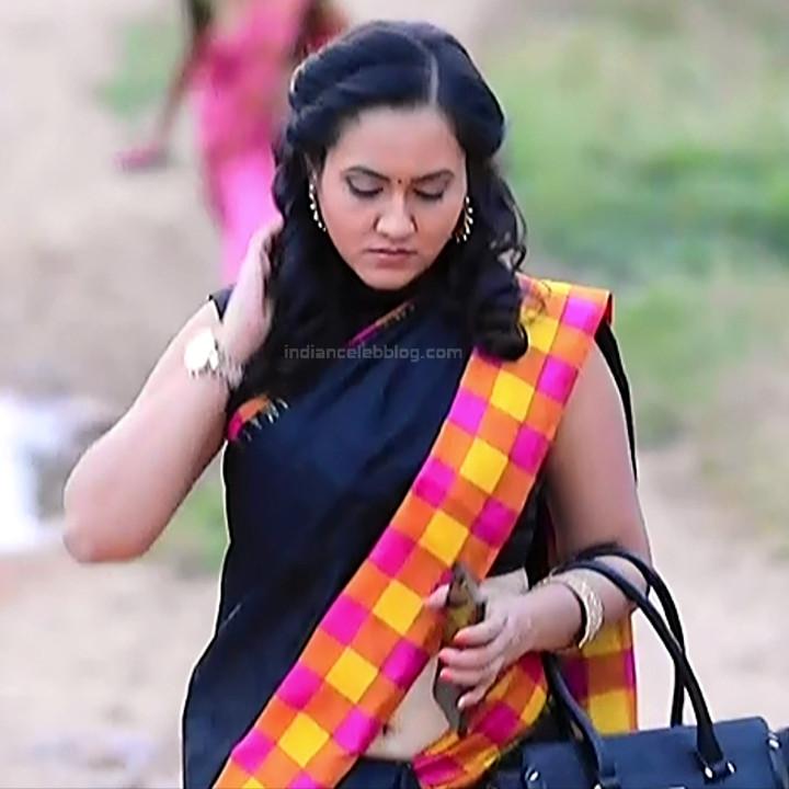 Sindhu Kalyan_Kannada TV Actress PuttaGM-S1_7_Hot Saree pics