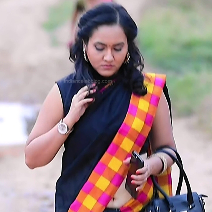 Sindhu Kalyan_Kannada TV Actress PuttaGM-S1_8_Hot Saree pics
