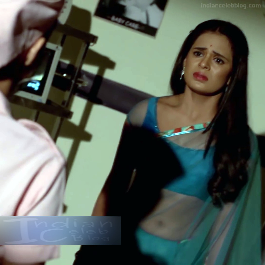 Sonal Vengurlekar_Hindi serial Actress S4_10_Hot saree navel pics