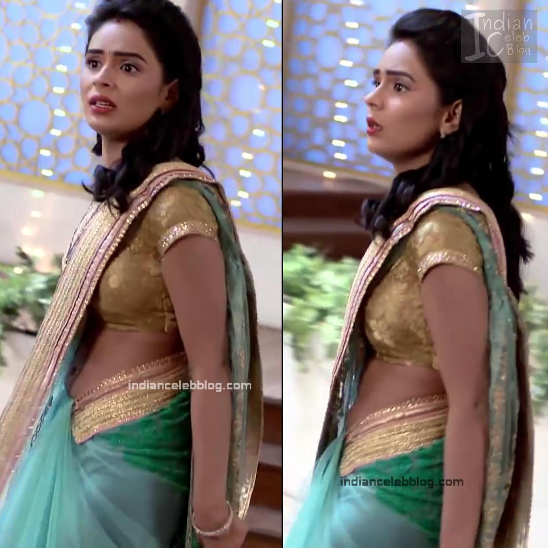 Sonal Vengurlekar_Hindi serial Actress S4_16_Hot saree navel pics