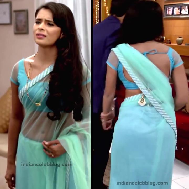 Sonal Vengurlekar_Hindi serial Actress S4_1_Hot saree navel pics