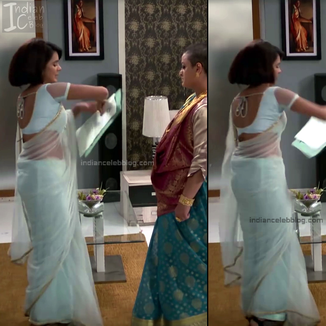 Sonal Vengurlekar_Hindi serial Actress S4_7_Hot saree navel pics
