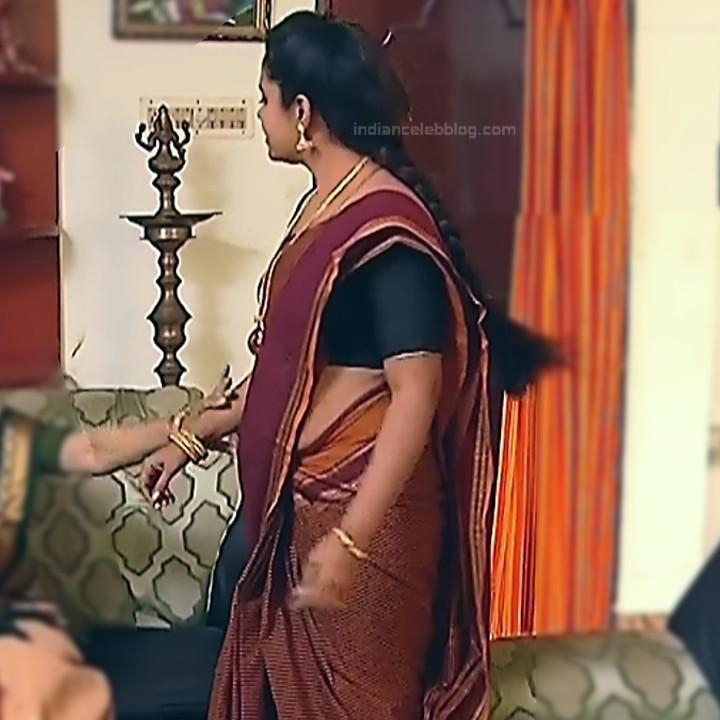 Sudha Tamil TV Actress Mahalakshmi S2 16 Hot Saree Photos