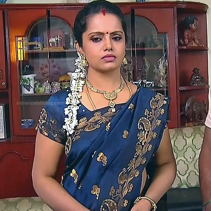 Sudha Tamil TV Actress Mahalakshmi S2 17 Hot Saree Photos
